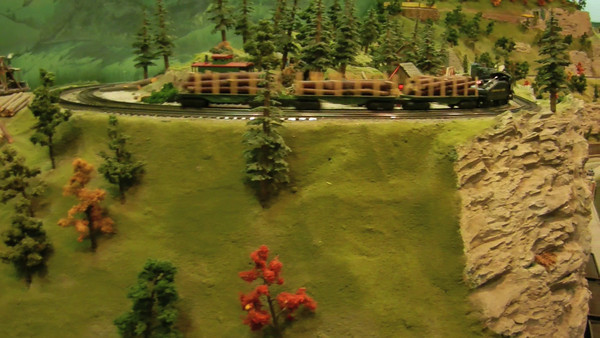 Toy trains at Olgebay