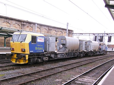 DR98907 and DR98957, Carlisle, 18th February 2009