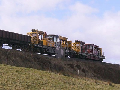 DR78229 near Gilsland, 28th March 2008