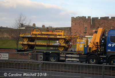 Story Contracting 1297 (99709 020040 0) and 1298 (99709 020041 8), Castle Way, Carlisle, 16th November 2018