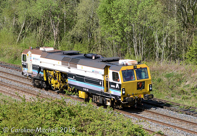 DR75301 near Petteril Bridge Junction, Carlisle, 2nd May 2018
