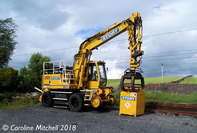 Story Contracting 1100 (99709 940621-4), Shap Station, 16th June 2018