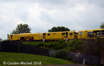 DR73111 near Petteril Bridge Junction, Carlisle, 1st June 2018