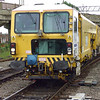 DR73923 Plasser & Theurer 08-4x4-4S-RT Switch & Crossing Tamper approaching Bletchley station on 12th July 2007