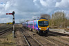 185108 arrives at Barnetby forming 1B68 07.53 Manchester Airport to Cleethorpes