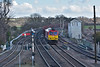 DB 60010 returns from Immingham with 6T23 loaded ore hoppers to Santon