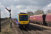 170305 / 306 restart from Barnetby with  1B75 10.26 Cleethorpes to Manchester Airport service