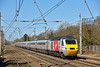 'Virgin' branded, former East Coast HST led by power car 43251 passes Welham Green forming 1E07 the 08.30 from Edinburgh to Kings Cross<br /> <br /> 10 March 2015
