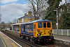 Rebuilt ED No.73964 passes Chiswick on its delivery run from Loughborough Brush to Tonbridge West Yard.<br /> <br /> 1 April 2015