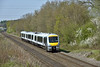 168113  speeds past Seer Green  with 1H47 the 11.35 Stratford-upon-Avon to London Marylebone service<br /> <br /> 20 April 2015