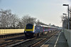 Power car 43149 speeds through Hersham with 1V31 09.07 service from Waterloo to Penzance<br /> <br /> 6 April 2015