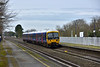 The11.39 Bedwyn (1K53)  to Paddington speeds through Taplow formed by Turbo 166207<br /> <br /> 2 February 2015