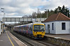 166207 halts at Iver with 2R35  the 12.12 from  Paddington to Reading<br /> <br /> 4 February 2015