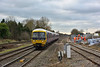 Work in progress as 165109 passes Iver forming 2P50 the 12.07 service from  Oxford to Paddington.<br /> Some of the first OHLE masts are visible in the distance.<br /> <br /> 4 February 2015