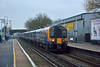 Desiro 450012 sweeps through Ashford with what I first thought was an ECS working but then proved to be 2C28 from Reading to Waterloo<br /> <br /> 5 January 2015