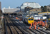 South West Trains lines in the Wimbledon area are closed on weekends in January for renewal and maintenance work.<br /> This was the scene to the west of Wimbledon station on Sunday morning.<br /> <br /> 10 January 2015