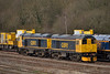 GBRf Class 20s 20901 / 20905 stabled in Tonbridge West Yard<br /> <br /> 4 March 2015