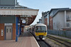 Platform 1 at Aylesbury hosts Chiltern ' Turbo' 165015 as it waits for its next call to duty.<br /> <br /> 12 March 2015