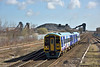 158906 passes Hatfield Colliery with 1J23 08.08 service from Bridlington to Sheffield<br /> <br /> 27 March 2015