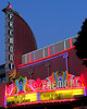 True to plan, we whiled away the pleasant evening by walking back down to the theater to catch the nifty neon.