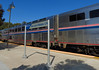 Following a gorgeous Coast Starlight ride along the SoCal coast we've headed inland and arrived at San Luis Obispo - where the weather was also gorgeous - to stay the night and enjoy the National Train Day festivities slated for the next day.