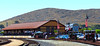 The old Southern Pacific freight house is the new home of San Luis Obispo's rail museum.  National Train Day was an occasion for opening it to the public for the first time.  That was just an early peek, though, and it wasn't to have its actual grand opening for a few months yet.