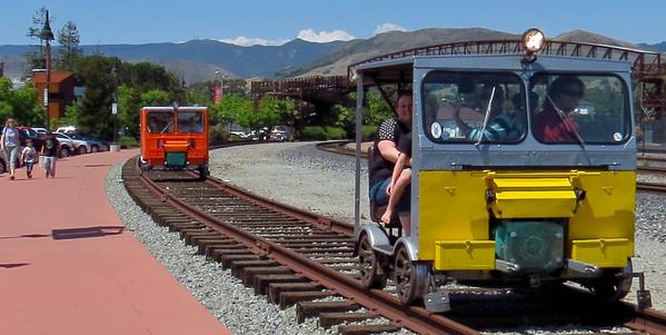 Train Day Foray 5-11-13