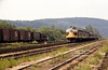 EL 815 with 3 car passenger train in Port Jervis, NJ.