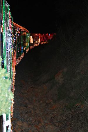 Sunol train of lights 2009