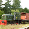 Fowler 0-4-0DH No MFP4. <br /> Now preserved at Buckfastleigh<br /> Dart Valley Railway