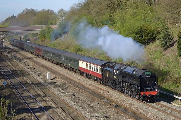 Trains April 2011