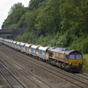 66092 leads 6M20 Whatley - St Pancras through Sonning<br /> <br /> 1 August 2011