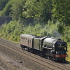 LNER A1 Class 4-6-2 no 60163 Tornado runs through Sonning as 5Z64 Bristol-Southall LS positioning movement<br /> <br /> 1 August 2011
