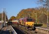 67025  takes 1Z75 09.10 Hitchin - Winchester Charter through Addlestone<br /> <br /> 9 December 2011