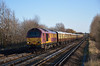 67019 + 67005 pass Hersham with 1Z80 09.44 VSOE Victoria to Sherborne  Christmas excursion<br /> <br /> 15 December 2011