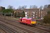 Newly painted Class 67 No. 67025 rolls nothwards light engine through Kenton<br /> <br /> 20 December 2011