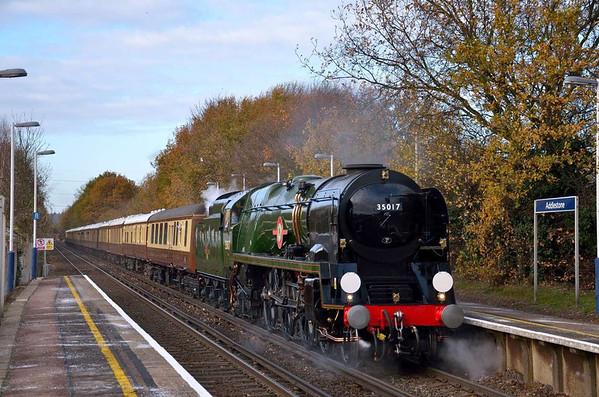Trains December 2011
