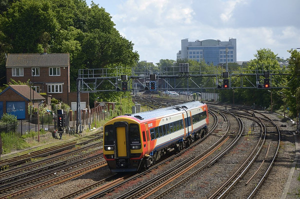 Trains May 2011
