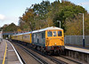 73201 Broadlands leads 73138 on 1Q85 through Virginia Water on its test run to Reading and return<br /> <br /> 1 November 2011