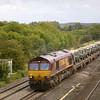 66104 passes Lower Basildon with 6V38 Marchwood - Didcot<br /> <br /> <br /> 5  September 2011