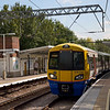 378220 halts at Gospel Oak with the 12.20 to Richmond<br /> <br /> 15 September 2011