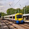 378208 rolls to a halt at Gospel Oak with the 12.20 to Stratford<br /> <br /> 15 September 2011