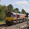 66037 passes Gospel Oak with 6V28 Dagenham - Acton Yard<br /> <br /> 15 September 2011