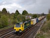 70001 is at the head of 4O51 from Wentloog - Southampton Maritime as it nears Worting Junction<br /> <br /> 26 April 2012