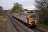 57304 / 57302 / 57309 0Z30 08.43 STP Longsight to Eastleigh T+RSMD via Staines<br /> <br /> 4  April 2012