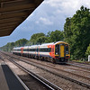 159003 at speed through Hersham with the 12.20 Exeter - Waterloo service<br /> <br /> 7 August 2012