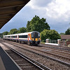 444011 on the Up Fast through Hersham with the 14.39 service from Haslemere<br /> <br /> 7 August 2012