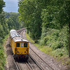 Leafy Surrey!<br /> 73107 + 73138 take 1Q54 through Claygate before returning from Guildford<br /> <br /> 8 August 2012