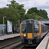 450548 halts at Ashford with the 14.03 to Windsor & Eton<br /> <br /> 7 August 2012