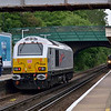 67026 passes Ashford (Mx) light engine shortly after 1Z88 Alresford/Alton - Cambridge with 70000 Britannia<br /> <br /> 7 June 2012